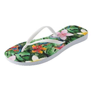 Voyage to the Tropics Flip Flops