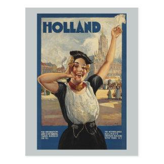 Voyage vintage Hollande par chemin de fer Cartes Postales