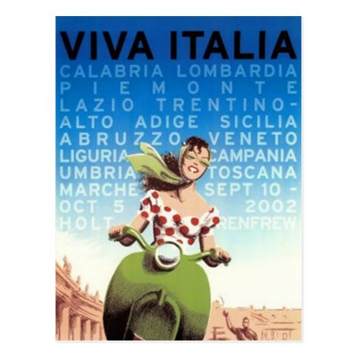 Voyage vintage Italie - Cartes Postales