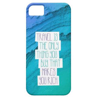 Voyagent le coque iphone de citation d'inspiration coques iPhone 5 Case-Mate
