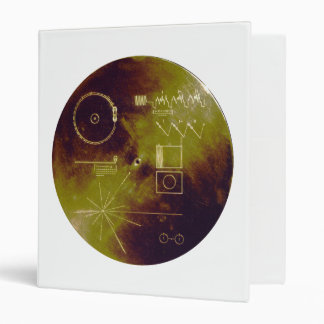 Voyager 1 and 2 Golden Record Sounds of Earth Binder