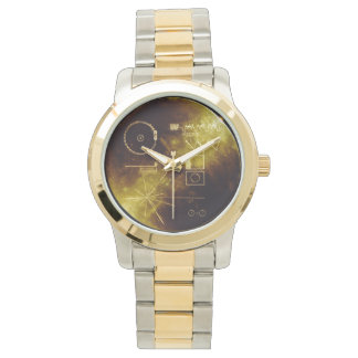 Voyager Golden Record Wrist Watch