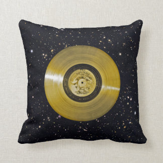 Voyager Spacecraft Golden Record Throw Pillow