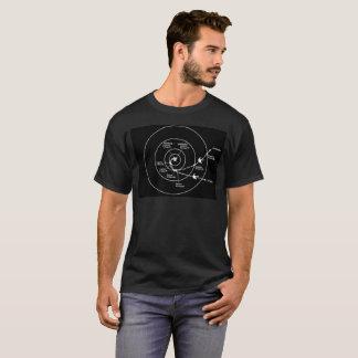 Voyager Spacecraft Orbital Trajectory T-Shirt