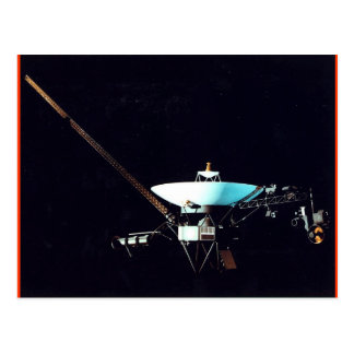 VOYAGER  SPACECRAFT POSTCARD