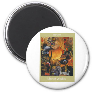 Voyager Tarot: 9 of  Worlds Magnet