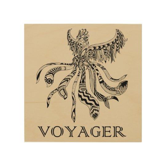 Voyager Wood Art