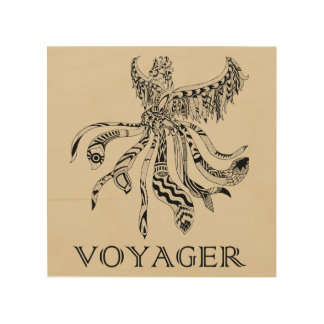 Voyager Wood Art Wood Print