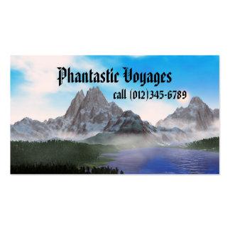 voyages phantastic cartes de visite professionnelles