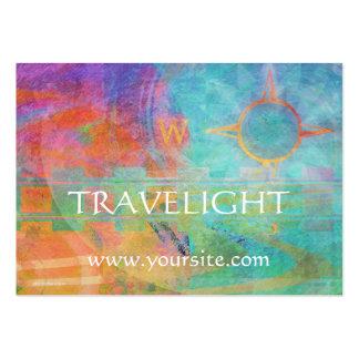 Voyages - thème abstrait de voyage cartes de visite professionnelles