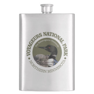 Voyageurs National Park (Loon) Hip Flask