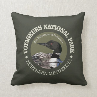 Voyageurs National Park (Loon) Throw Pillow