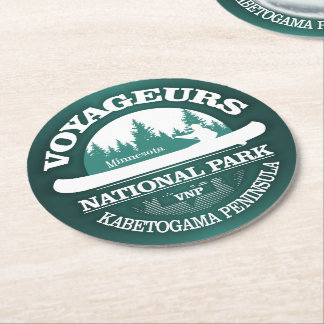 Voyageurs National Park Round Paper Coaster