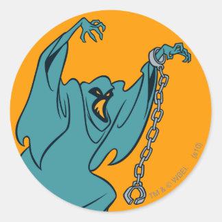 Voyous fantômes 01 de Technicolor Sticker Rond