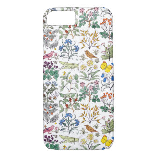 Voysey Apothecary's Garden Pattern iPhone 7 Case