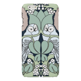 Voysey Owl Pattern Arts and Crafts Art Nouveau