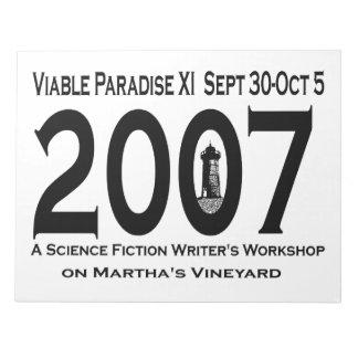 VP11 (2007) Notepad