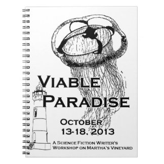 VP17 Spiral notebook
