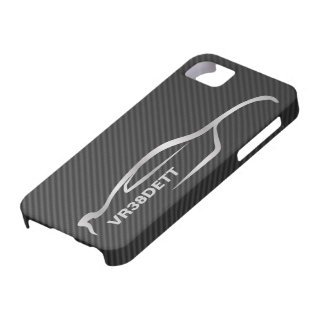 """VR38DETT"" Skyline GT-R Gray Silhouette Logo Case For The iPhone 5"