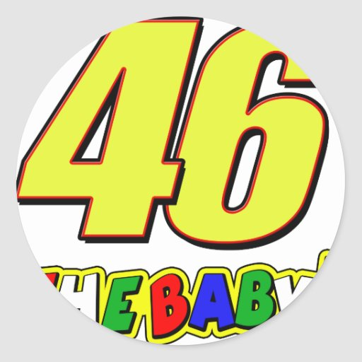 vr46baby stickers
