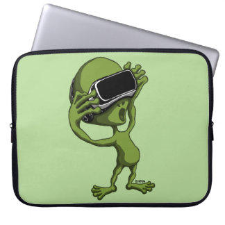 VR Alien Laptop Sleeve
