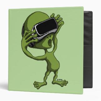 VR Alien Vinyl Binder