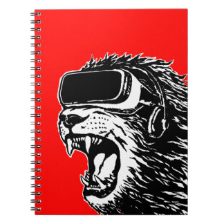 VR Lion Note Book