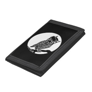 VR Owl Trifold Wallets