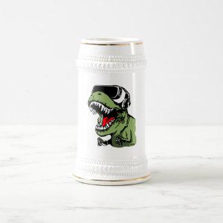 VR T-rex Beer Stein