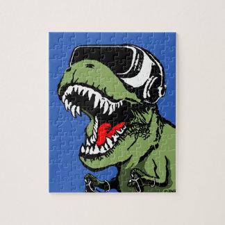 VR T-rex Jigsaw Puzzle