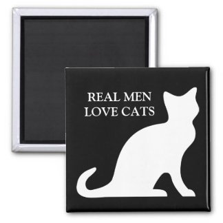 Vrai aimant de chats d'amour d'hommes