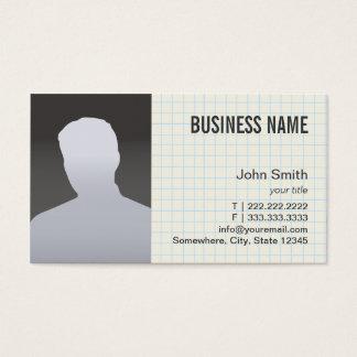 Vraie photo de professionnel d'agent immobilier cartes de visite