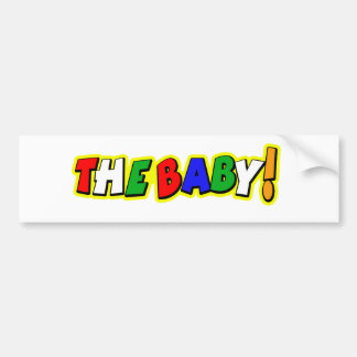 vrbaby2 car bumper sticker