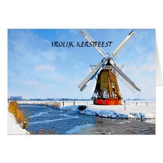 VROLIJK FERSTFEEST (MERRY CHRISTMAS) CARD