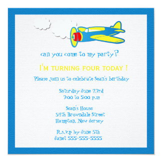 Vroom.... Birthday party invites