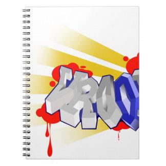 Vroom Spiral Notebook