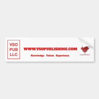 VSO Publishing LLC 2x Logo Bumper Sticker 2017