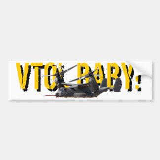 VTOL BABY Bumper Sticker