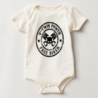 VTWIN POWER FREE BIKER BABY BODYSUIT