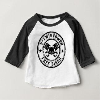 VTWIN POWER FREE BIKER BABY T-Shirt