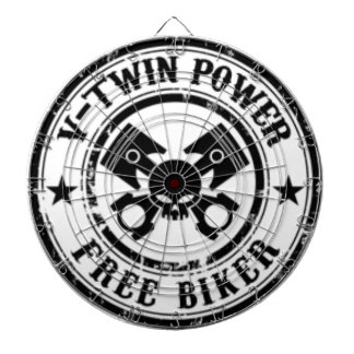VTWIN POWER FREE BIKER DARTBOARD