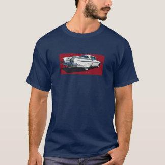 Vue arrière de l'impala 1958 de Chevy de blanc T-shirt