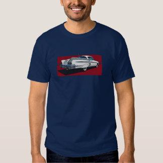 Vue arrière de l'impala 1958 de Chevy de blanc Tshirt