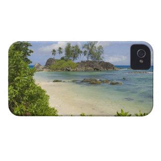 Vue côtière sur l'île de Mahe Étuis iPhone 4