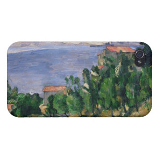 Vue de bâti Marseilleveyre et de l'île Coques iPhone 4