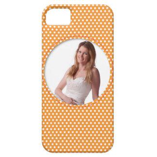 Vue de Polkadot dans l'orange Coque iPhone 5 Case-Mate