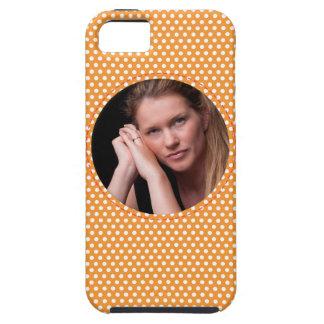 Vue de Polkadot dans l'orange Coques iPhone 5 Case-Mate