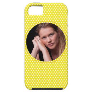 Vue de Polkadot en jaune Coque iPhone 5 Case-Mate