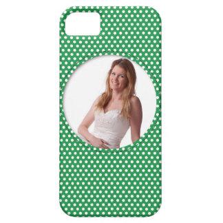 Vue de Polkadot en vert Coques iPhone 5