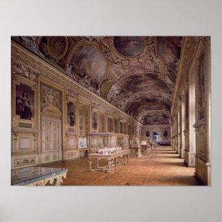 Vue intérieure du d'Apollon de Galerie